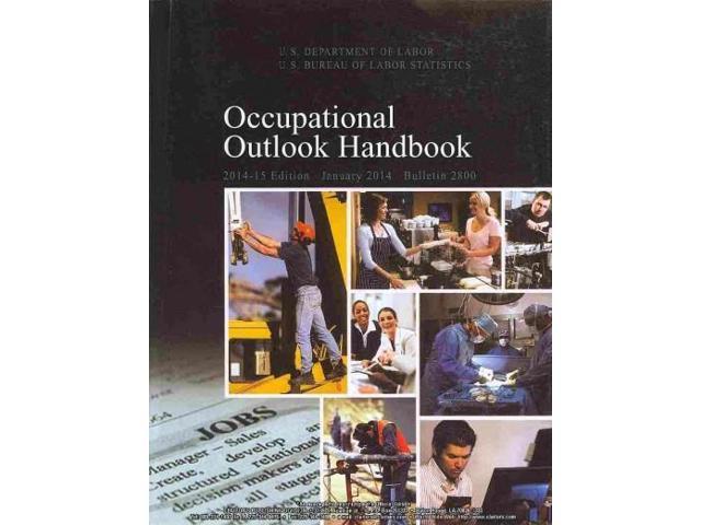 occupational outlook handbook 2014 15 occupational outlook handbook g p o. Black Bedroom Furniture Sets. Home Design Ideas