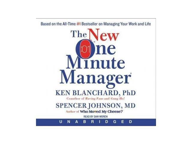 a review of the one minute manager by kenneth blanchard and spencer johnson The new one minute manager by ken blanchard and spencer johnson william morrow 2015 98 pages the original one minute manager book was written by ken blanchard and spencer johnson in.