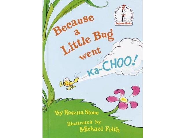 because a little bug went ka choo pdf