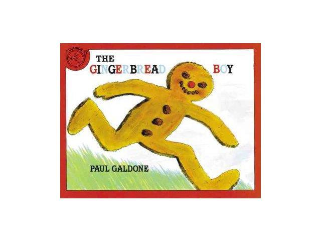 The Gingerbread Boy BIG Galdone, Paul
