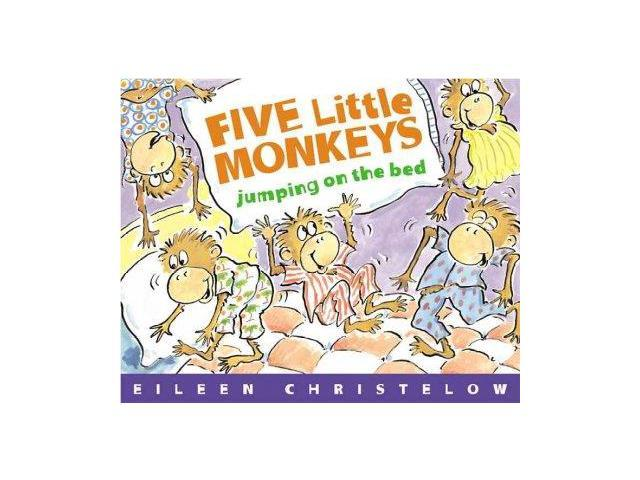 Five Little Monkeys Jumping on the Bed Five Little Monkeys Christelow, Eileen