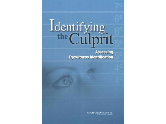 Identifying the Culprit National Academy of Sciences (Corporate Author)
