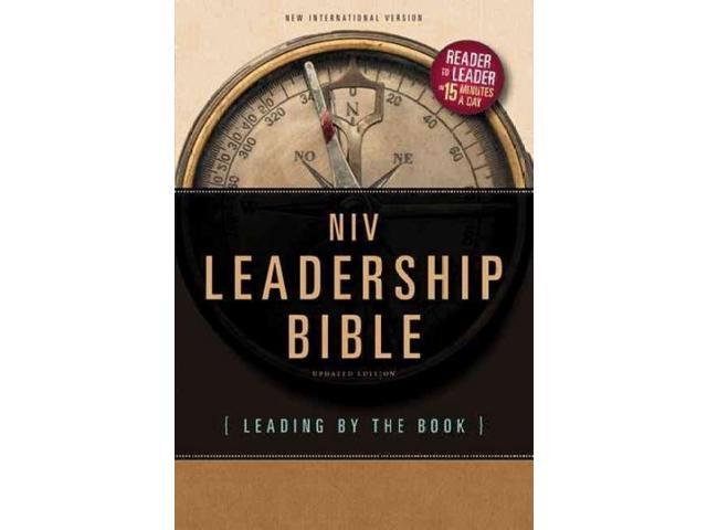 Leadership Bible: New International Version, Leading by the Book