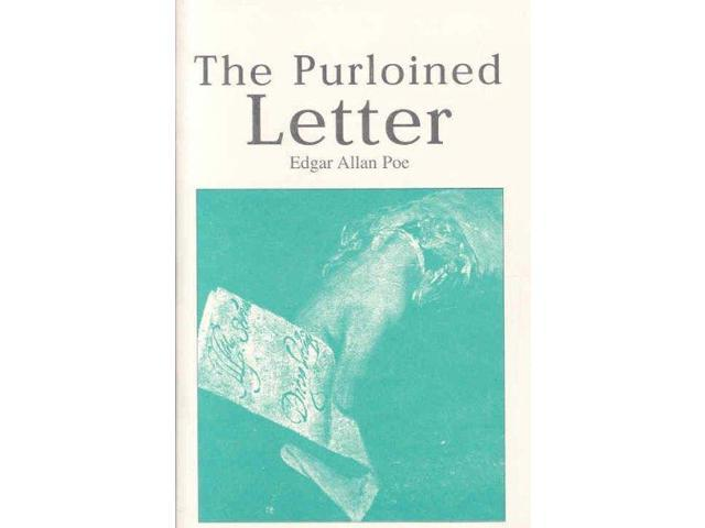 """an analysis of the purloined letter by edgar allan poe C auguste dupin: c auguste dupin, fictional detective appearing in three stories by edgar allan poe and """"the purloined letter."""