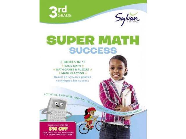 Third Grade Super Math Success (Sylvan Learning)