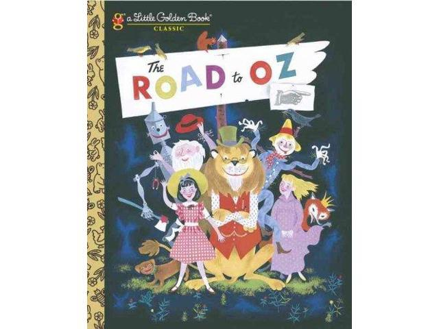 The Road to Oz (Little Golden Books)