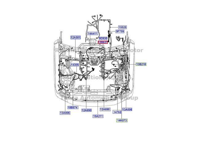 A9Y4_1_20160302650316759 oem main engine transmission wiring harness 08 10 f250 f350 f450