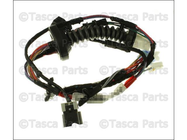 oem mopar rh lh rear door wiring harness dodge ram  oem mopar rh lh rear door wiring harness 2002 03 dodge ram 1500