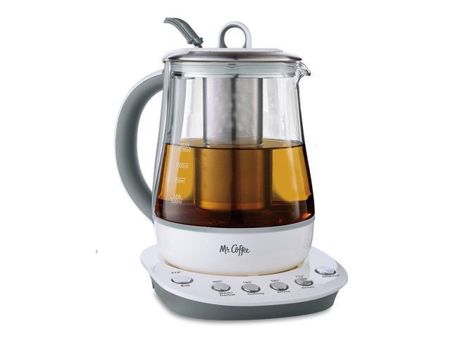 Coffee Maker Kettle Combo : Mr. Coffee Tea Maker and Kettle - White BVMC-HTK100-Newegg.com
