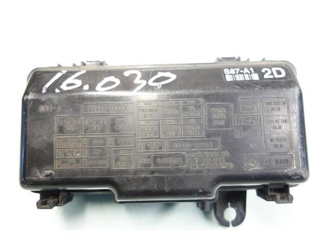 1998 Honda Civic Fuse Box Manual : Honda accord under hood fuse box free engine