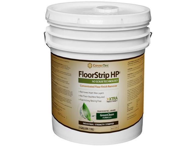 FloorStrip HP Floor Finish Stripper, Labor Saving, High Performance (5 Gal - Prof Grade)