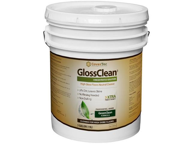 GlossClean Neutral High Gloss Floor Cleaner (5 Gal - Prof Grade)