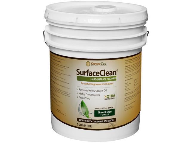SurfaceClean Degreaser, Substrate Cleaner, Powerful Commercial Grade (5 Gal - Prof Grade)