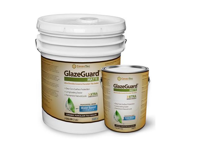 Glazeguard Matte Floor Sealer Wall Sealer For Ceramic Porcelain Stone Tile Surfaces 3 Gal
