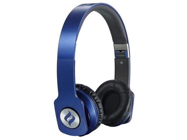 Noontec ZORO HD On Ear Headphone Audiophile Sound High Definition Audio Exclusive SCCB Acoustic Technology Foldable and Light Weight (Blue)