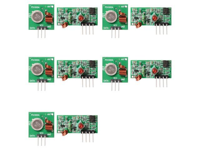 433Mhz RF transmitter and receiver Module for Arduino