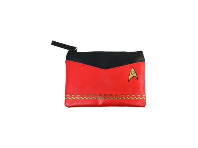 Coin Purse - Star Trek - Original Series Red Uniform New Toys Licensed ST-L115