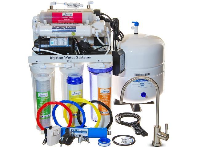 Ispring 7 Stage 100gpd Reverse Osmosis Ro Water Filtration