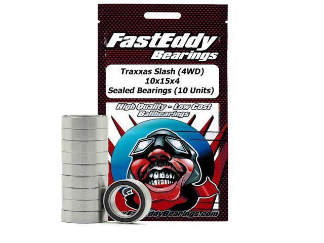 Traxxas Slash (4WD) 10x15x4 Sealed Bearings (10 Units)