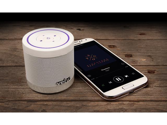 Veho VSS-747-360BT 'Ice White' 360° M4 Bluetooth Wireless Speaker