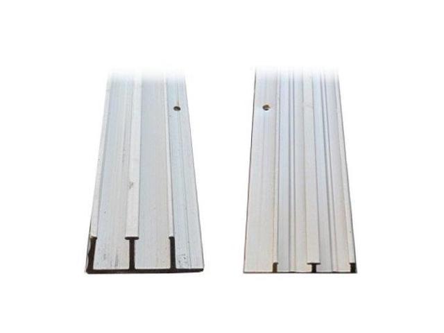 1 4 x 4 39 aluminum sliding door track for 1 4 inch sliding door track
