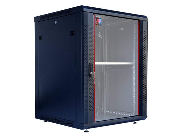 15U Server Rack Cabinet Enclosure. Fully Equipped. ACCESSORIES FREE! Vented  Shelf, Cooling