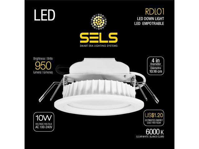 sels led recessed light