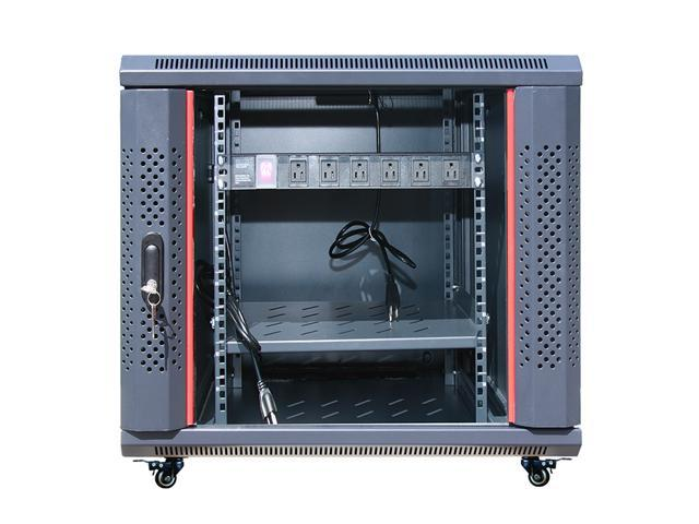 12U Free Standing Server Rack Cabinet. Fits Most of Servers ...