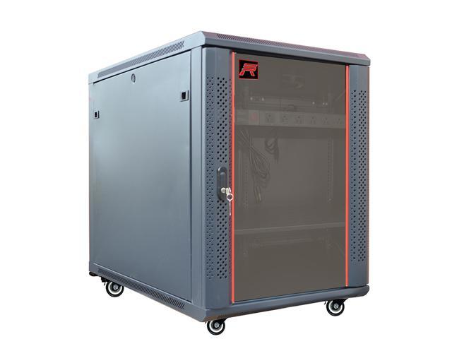 15U Free Standing Server Rack Cabinet. Fits Most Of Servers, ACCESSORIES  FREE!
