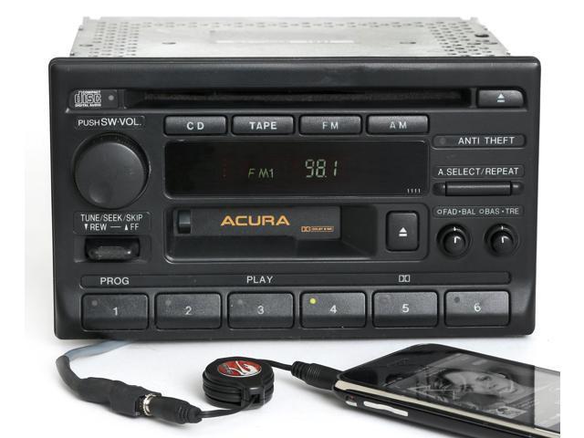 Acura tl 1995 1998 radio am fm cassette cd player pn 39100 sw5 a000