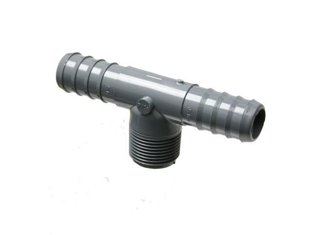 Barb Tubing x MPT Tee Adapter-Barb Size:3/4