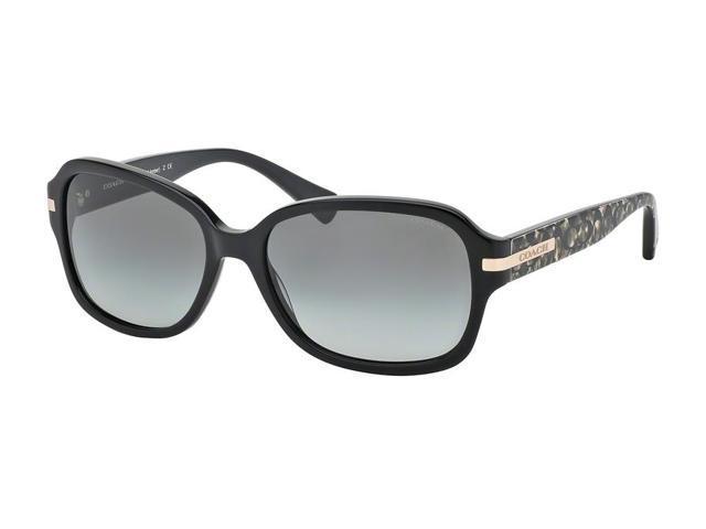 Coach Sunglasses Womens  coach 0hc8105 sun full rim rectangle womens sunglasses size 58