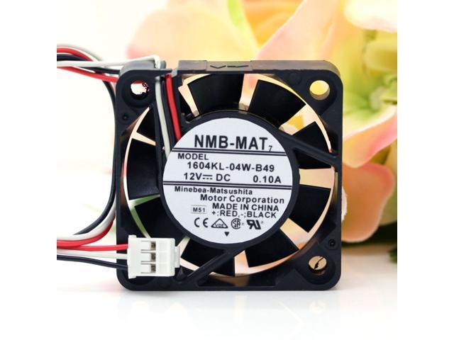 NMB 1604KL-04W-B49 4010 40mm DC12V 0.1A dual ball bearing axial ...