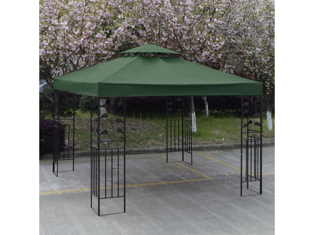 10u0027 X 10u0027 Gazebo Top Cover Patio Canopy Replacement 2-Tier Green  sc 1 st  Newegg.com & 10u0027 X 10u0027 Gazebo Top Cover Patio Canopy Replacement 2-Tier Green ...