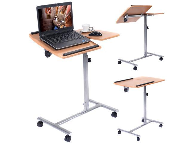 Goplus Adjustable Laptop Notebook Desk Table Stand Holder