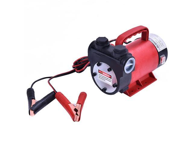Portable 12v 10 Gpm Electric Diesel Oil And Fuel Transfer