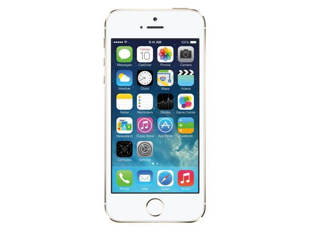Refurbished: Apple iPhone 5s 64GB Unlocked GSM 4G LTE Dual-Core Phone w/ 8 MP Camera - Gold - Newegg.com - 웹