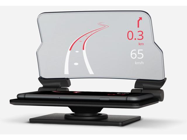 hudway glass navigational heads up display for ios and. Black Bedroom Furniture Sets. Home Design Ideas
