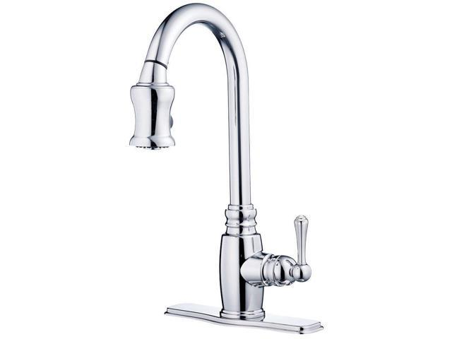 Danze D454557 Opulence Single-Handle Pull-Down Kitchen Faucet ...