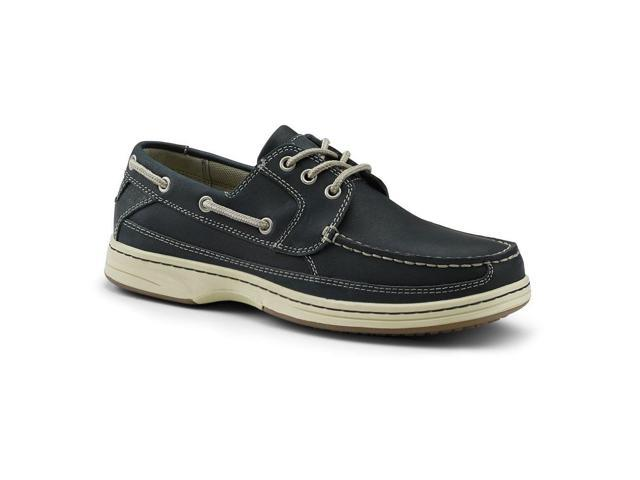 Dockers SureGrip Mens Pier Navy Boat Shoe Slip Resistant Work Shoes 7.5M