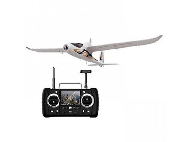 New Hubsan H301S SPY HAWK 5.8G FPV 4CH RC Airplane RTF With GPS Module