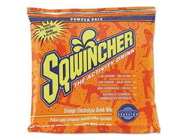 Sqwincher 016041-or 2-1/2-gal Orange Powderdrink Mix