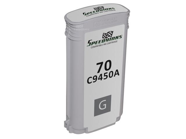 Speedy Inks - Alternative Replacement Ink Cartridge for Hewlett Packard C9450A HP 70 Gray
