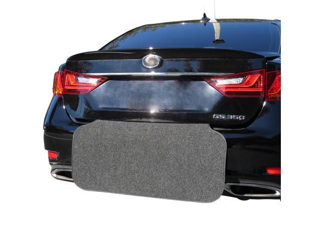 Rear Bumper Protector Black And Trunk Mat Prevent