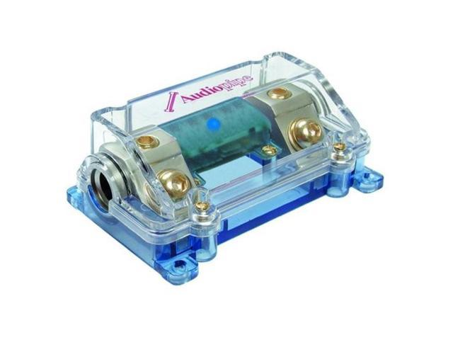 AudioPipe CQ1221PBLUE ANL Fuse Block with LED