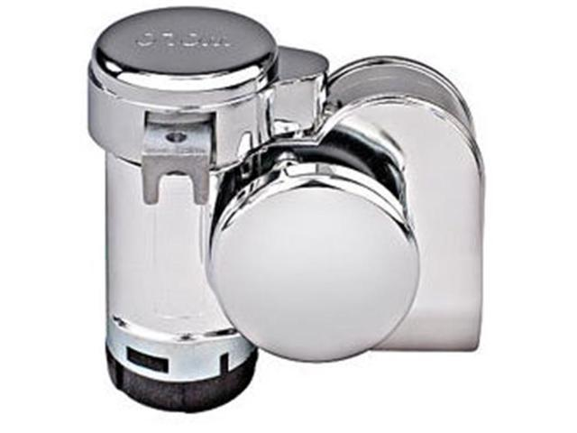 Wolo Manufacturing BADBOY519 Model 519 Bad Boy Chrome 1-Piece Dual Tone Air Horn with 118dB - 530-680Hz