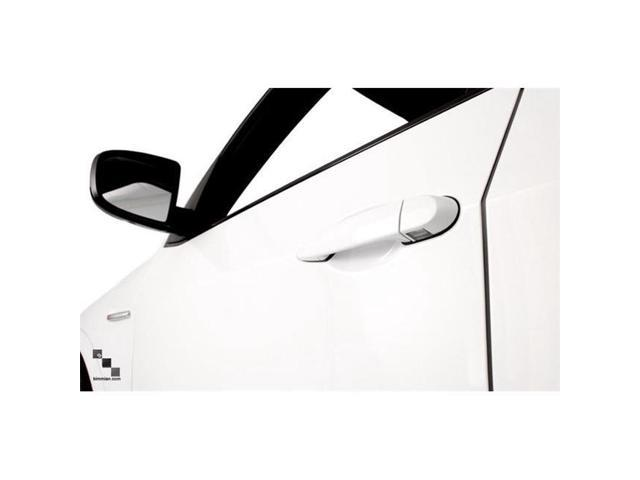 Bimmian KHC8XRA96 Painted Keyhole Cover For BMW 1 Series & 1M - E82 E88 E87 And E81 - RHD, Mineral White A96