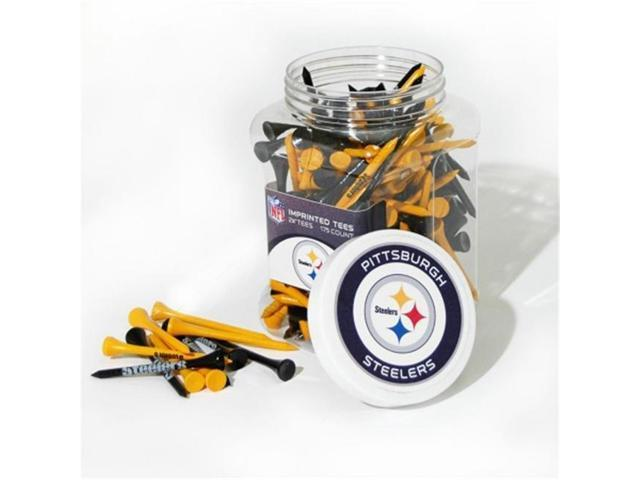 Team Golf 32451 Pittsburgh Steelers 175 Tee Jar