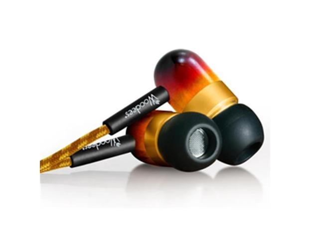 Southern Audio Services WOO-IESW101V Vintage Woodees Stereo Earphones