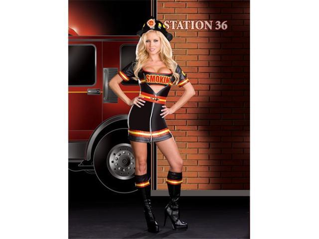 Costumes For All Occasions RL6524XL Extra Large Smokin Hot Fire Dept Wom